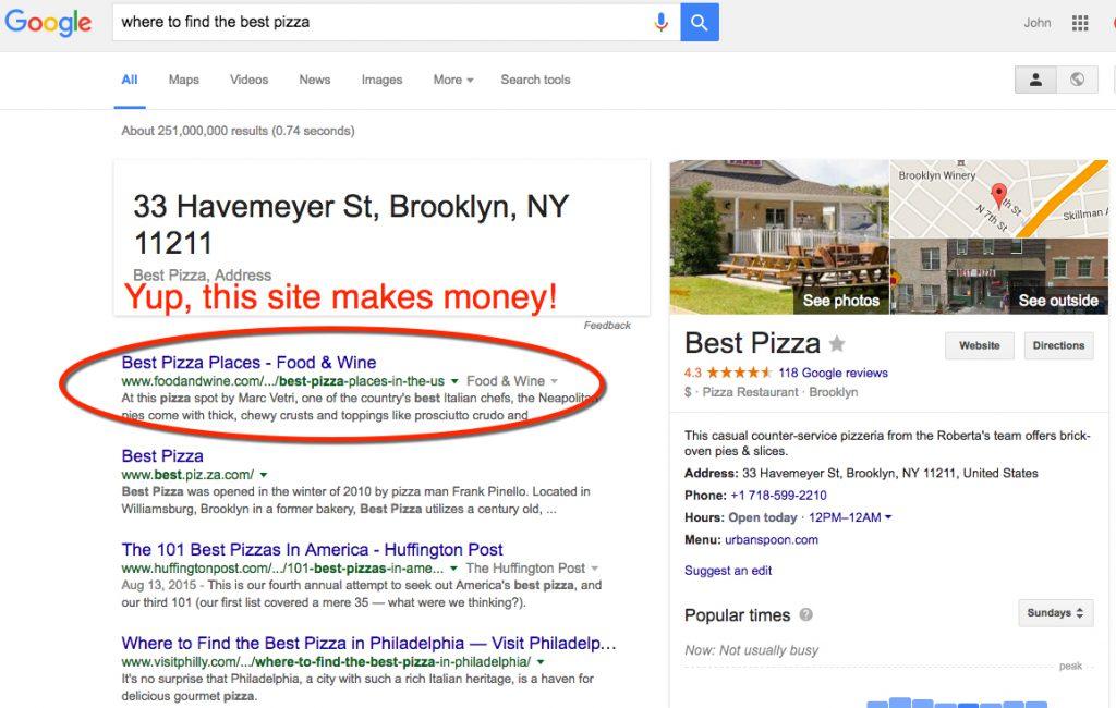 google-pizza-search