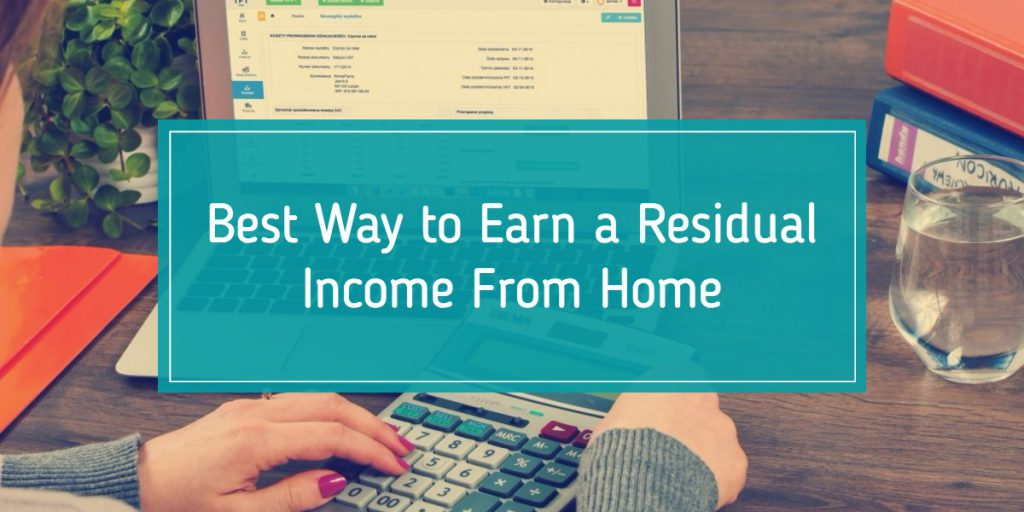 best-residual-income-opportunity