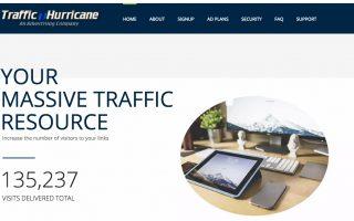 Traffic Hurricane Review – Won't Last Longer Than 3 Months