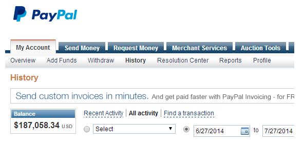 Brad Campbell's paypal account