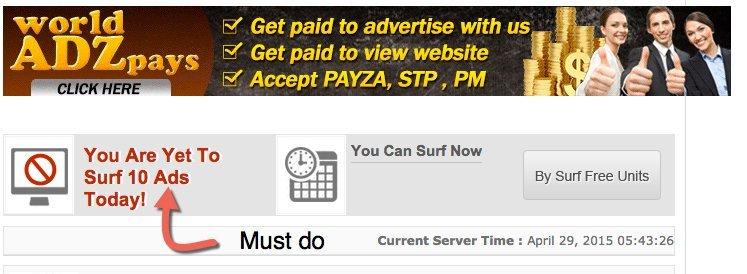 surf ads