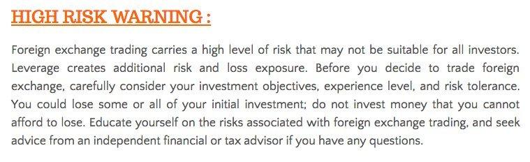 high-risk-warning