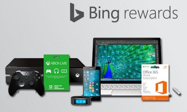 bing rewards... Bing Rewards