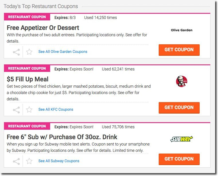 befrugal-restaurant-coupons