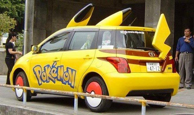 pokemon-car