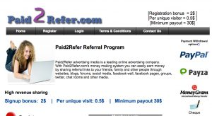 Paid 2 Refer Review: No, You Will Not Get Paid - Work at Home Jobsite