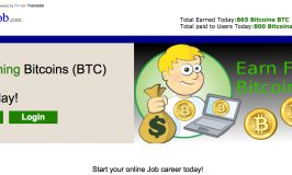 Bitcoin 4 Job Is A Scam So Don't Think You're Getting Any Type Of Coin For Free
