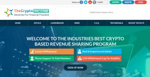 The Crypto Income Review – I Wonder How Long This One Will Last
