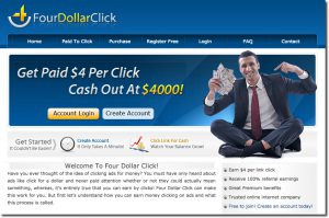 Four Dollar Click Review – Scam or Legit PPC Site?