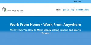 Ticket Flipping Hub Review – Huge Profits or Just Another Scam?