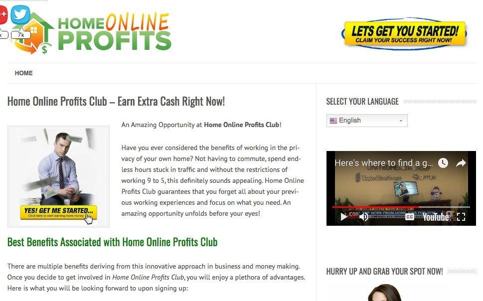 home-online-profits-club-review
