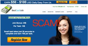 Best Cash Job is a Scam and This Review Will Explain Why