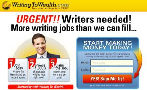 Is Writing to Wealth a Scam or Can You Really Make Money With Short Articles?
